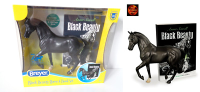 £35 • Buy Breyer 6178 Classic Scale Black Beauty Thoroughbred Horse Model And Book Set New