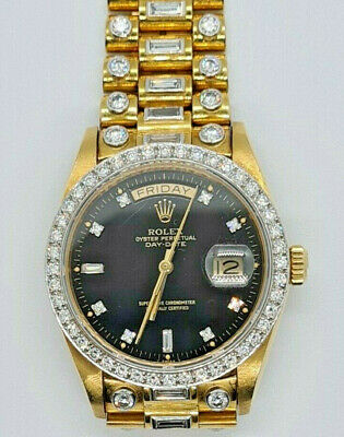 £33000 • Buy Rolex 18038, Yellow Gold And Diamond, Day Date, President, Octopussy