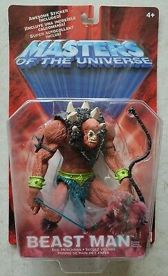 $28.99 • Buy NEW MOTU 2002 MASTERS OF THE UNIVERSE BEAST MAN BEASTMAN ACTION FIGURE! A159