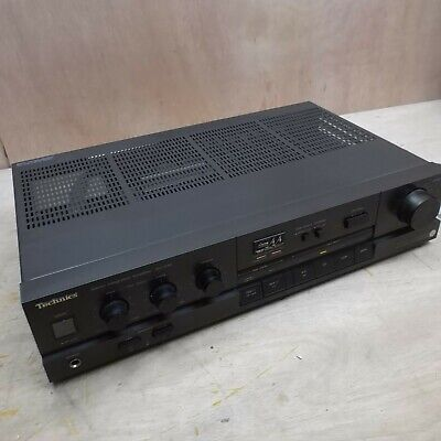 £99.99 • Buy Technics SU-V40 Integrated Amplifier Amp W Phono Stage Class AA Black Working