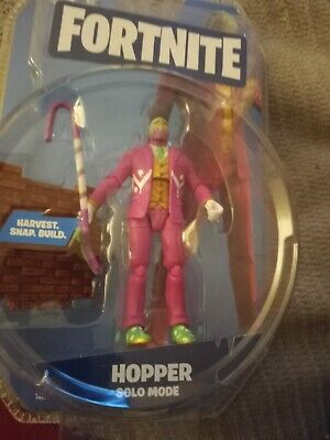$ CDN12.08 • Buy Fortnite HOPPER Figure Lot Videogame Collectible MIP New Series Toy Solo Mode