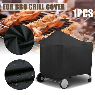 $ CDN34.21 • Buy BBQ Rolling Cart Full Length Grill Cover Protector For Weber7152 Series