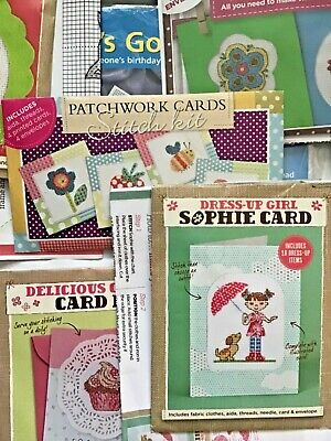 £3.99 • Buy Cross Stitch Kits. Card Making Birthday Greetings Card Kits. Various Kits New