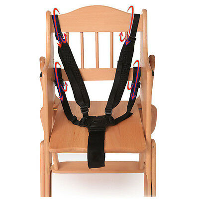 AU5.62 • Buy 5 Point Harness Kids Safe Belt Seat For Stroller High Chair Pram  B^KN