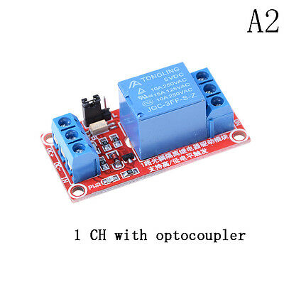 AU2.91 • Buy 5V 1 Channel Relay Board Module With Optocoupler LED For Arduino PiC ARM AVRYA
