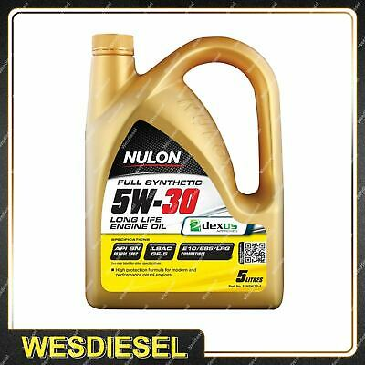 AU52.90 • Buy Nulon Full Synthetic 5W-30 Long Life Engine Oil 5L SYN5W30-5 5 Litres