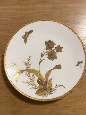 Minton 19th Century Aesthetic Movement Hand-Painted Dessert Cabinet Plate • 99.99£