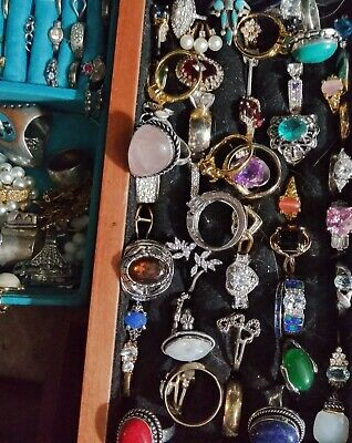 $ CDN31.47 • Buy 💥RINGS Lot Only 💥ALL GOOD Wear Resell Vintage Now 5 Pcs ~ All Styles Sizes 💍