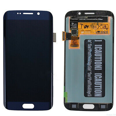 $ CDN61.66 • Buy OEM For Samsung Galaxy S6 Edge G925 OLED LCD Screen Digitizer Blue Gold