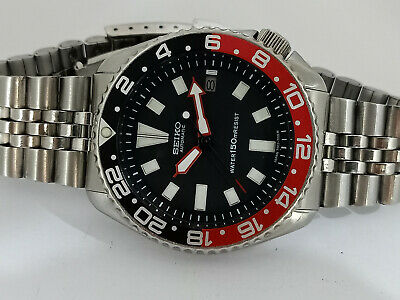 $ CDN169.29 • Buy Black Face Mod Seiko Diver 7002-700a Automatic Men's Watch Sn 6n1768
