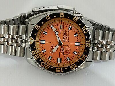 $ CDN169.29 • Buy Prodiver Orange Modded Seiko Diver 7002-700a Automatic Men's Watch 270461