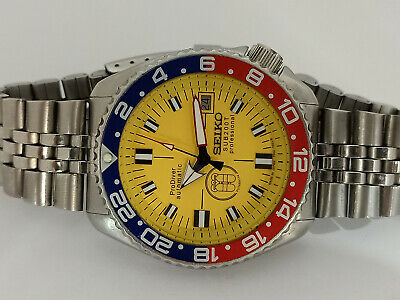 $ CDN169.29 • Buy Prodiver Yellow Modded Seiko Diver 7002-700a Automatic Men's Watch 0n1407