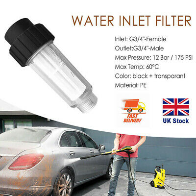 £6.89 • Buy Car Washer Water Filter High-Pressure Accessories For Karcher K2-K7 Other Series