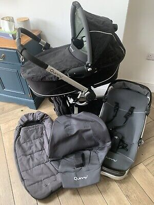 £50 • Buy Quinny Buzz Travel System Pushchair Buggy