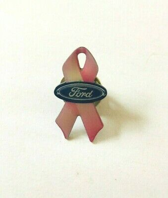 £4 • Buy A Little Ford Breast Cancer Pink Ribbon Pin Lapel Badge