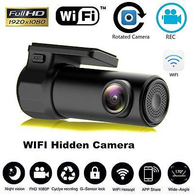 AU33.99 • Buy 1080P WiFi Car DVR 170° FHD Lens Dash Video Recorder Camera Cam Night Vision
