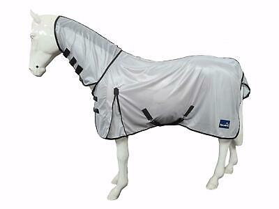 £27.99 • Buy Lightweight Fly Sheet Rug Horses Protect Fly Adjustable Full Neck Cover Outdoor