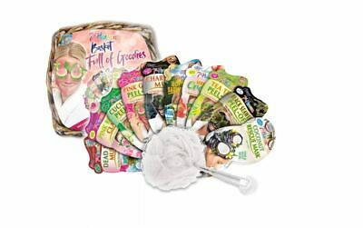 £12.99 • Buy Montagne Jeunesse 7th Heaven Basket Full Of Face Mask Goodies - New