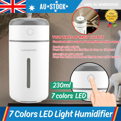 AU16.99 • Buy USB Charge Car Air Humidifier Diffuser Essential Oil Aroma Mist Purifier Portabl