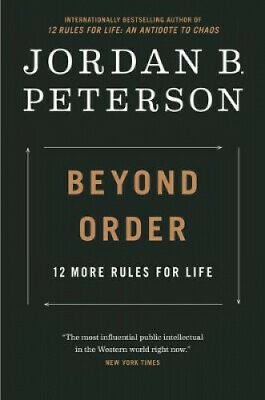 AU33.66 • Buy Beyond Order: 12 More Rules For Life By Jordan B Peterson