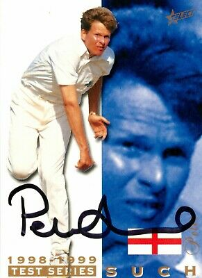 AU14.99 • Buy ✺Signed✺ 1998 1999 ENGLAND Cricket Card PETER SUCH BBL