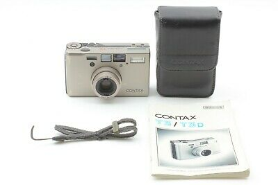 $ CDN2540.04 • Buy [ Almost Mint ] Contax T3 Double Teeth W Point & Shoot Camera Case Strap JAPAN
