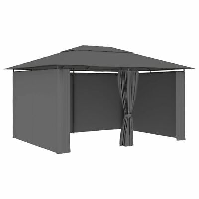 AU283.95 • Buy Garden Marquee With Curtains Deluxe Outdoor Sunshade Gazebo Party Tent 4x3m