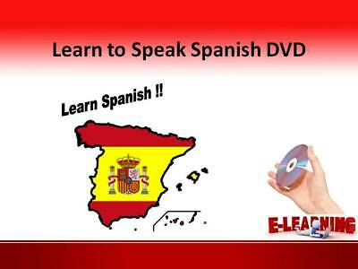 £4.99 • Buy SPANISH Language Course On DVD Learn To Speak Spanish At Home Or On The Go