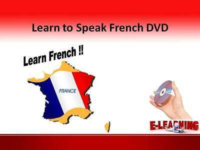 £4.99 • Buy FRENCH Language Course On DVD Learn To Speak French At Home Or On The Go