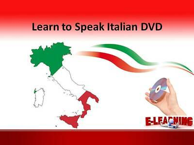 £4.99 • Buy ITALIAN Language Course On DVD Learn To Speak Italian At Home Or On The Go