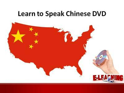 £4.99 • Buy CHINESE Language Course On DVD Learn To Speak Chinese At Home Or On The Go