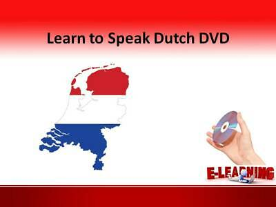 £4.99 • Buy DUTCH Language Course On DVD Learn To Speak Dutch At Home Or On The Go Holland