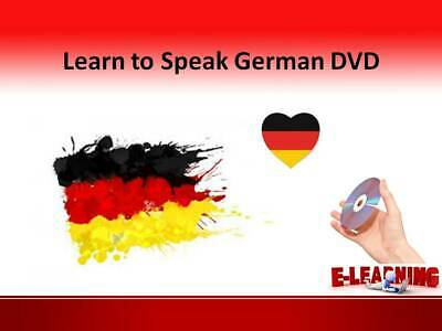 £4.99 • Buy GERMAN Language Course On DVD Learn To Speak German At Home Or On The Go