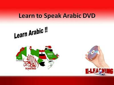 £4.99 • Buy ARABIC Language Course On DVD Learn To Speak Arabic At Home Or On The Go
