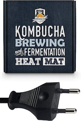 £14.99 • Buy EU Kombucha Heater Fermentaholics Brewing & Fermentation Heat Mat/Wrap Home Brew