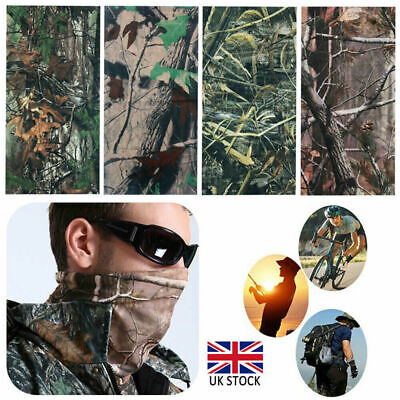 £3.99 • Buy Realtree Real Tree Leaf Camouflage Camo Snood Scarf Face Mask Head Cover Hat UK