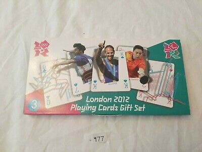 £1.99 • Buy Olympic London 2012 Plying Cards Gift Set Official Merchandise