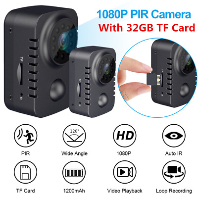 View Details 1080P HD Mini Hidden Spy Camera Security Cam Night Vision Motion Detection Home • 29.99£