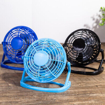 AU9.48 • Buy Mini USB Desk Fan Small Quiet Personal Cooler USB Powered Portable Table Fa3^mx