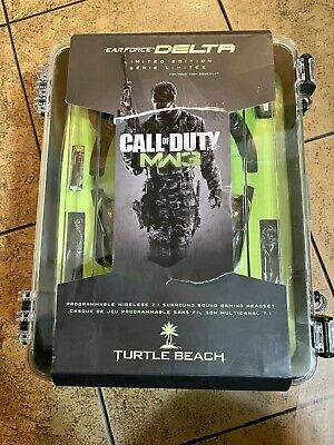 £35.49 • Buy Xbox 360 Turtle Beach Call Of Duty MW3 Ear Force Delta Wireless Headset And Game