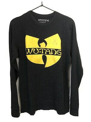 $ CDN12.13 • Buy Wu Tang Clan Thermal Long Sleeve Shirt Sz M Vintage 90s Hip Hop Wu Wear