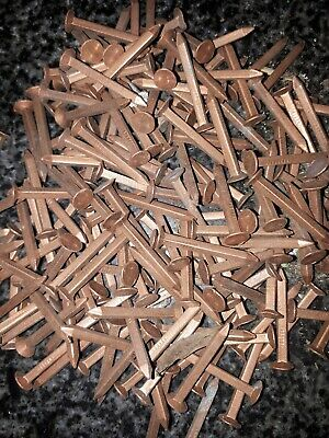 £21 • Buy 428g Solid Copper Square Shaft Rose Head Boat Nails 3cm