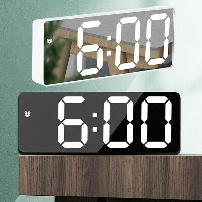 £9.70 • Buy Digital LCD Snooze Alarm Clock Radio LED Color Display Wall/Ceiling Projection