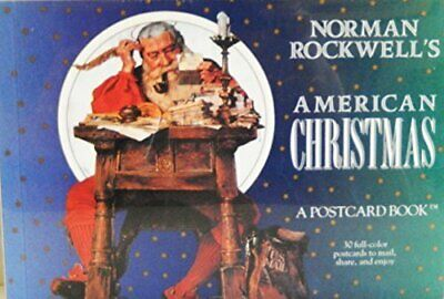 $ CDN30.92 • Buy NORMAN ROCKWELL'S AMERICAN CHRISTMAS: A POSTCARD BOOK *Excellent Condition*