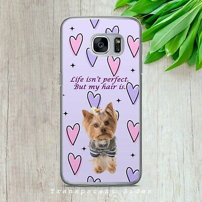 $ CDN10.21 • Buy Yorkshire Terrier Yorkie Dog Hard Phone Case Cover For Iphone Samsung Huawei