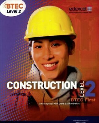 £53.70 • Buy Btec Level 2 First Construction Student Book Am Topliss Simon