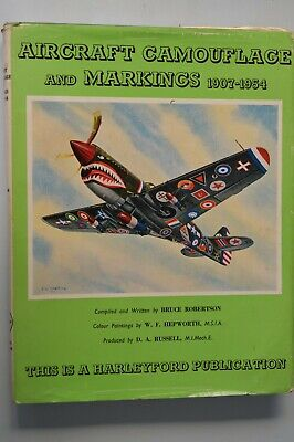 £8.90 • Buy Aircraft Camouflage And Markings 1907-1954