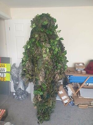 £19 • Buy Ghilly Suit Camouflage GEAR Outfit Size XL