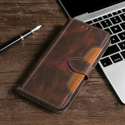 AU12.84 • Buy For One Plus 5T FlipWalletMagneticPULeatherCaseCover