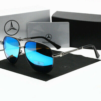 £15.35 • Buy Mercedes Benz Glasses Polarized Sunglasses 6 Colors With Box Classic Driving UK